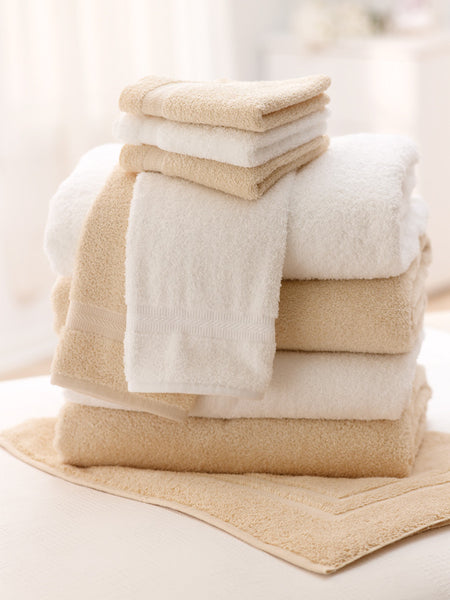 Feels Like Home Collection Plush Terry  Washcloths  (12  Dozen) - BH Medwear