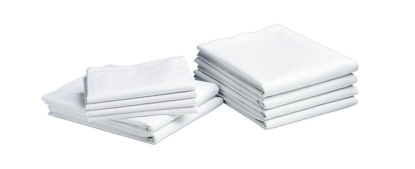 6 Dozen Heavy-Weight Egyptian Cotton Pillowcases - BH Medwear