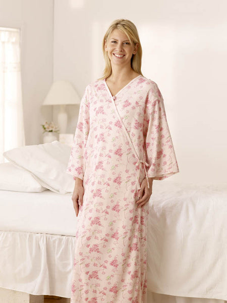 Feels Like Home Front Open Gown - BH Medwear