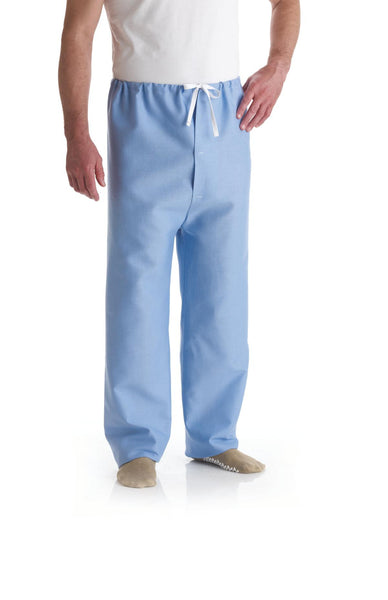 Drawstring Pants Solid Blue - BH Medwear