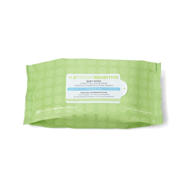 Aloetouch Sensitive Personal Cleansing Baby Wipes - BH MedWear 1