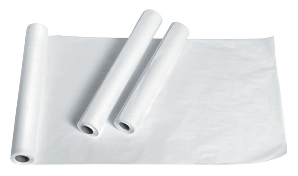 Examination Table Paper - Economy Crepe White - BH Medwear