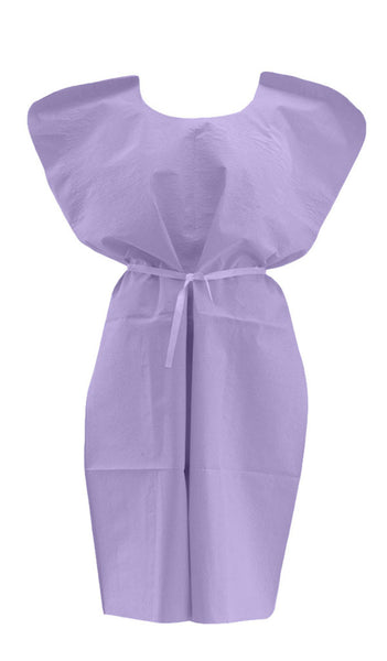 Disposable Patient Gowns (50 per Case) - BH Medwear - 1