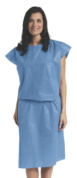 Case of 50 Spunlace Disposable Patient Gowns - BH Medwear - 2