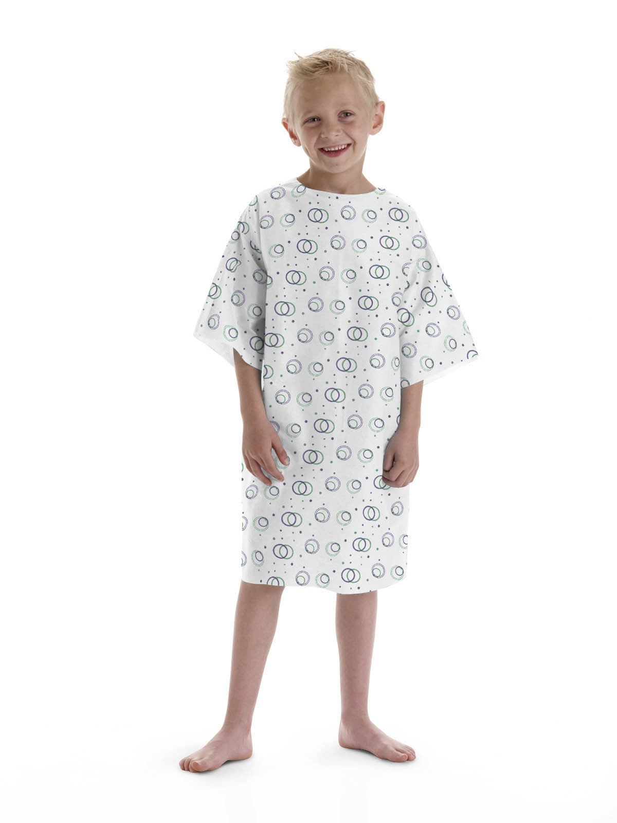 Disposable Pediatric Gown 5-8 years (50 per Case) - BH Medwear