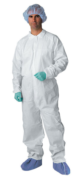 Classic Breathable Coveralls (Case of 25) - BH Medwear - 2