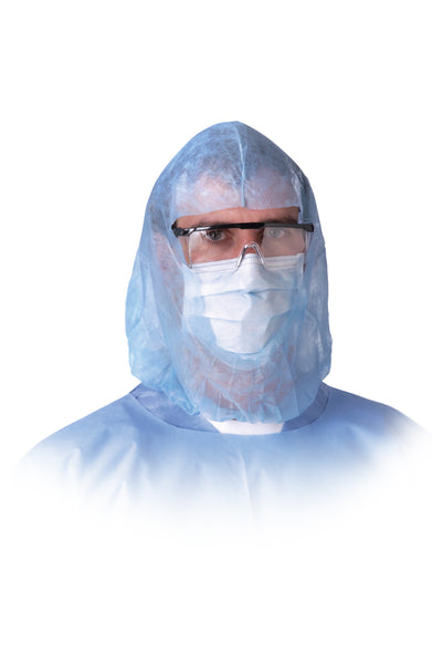 Surgeons' Head & Beard Covers (Case of 300) - BH Medwear