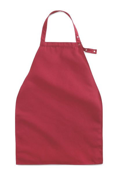 Apron Style Dignity Napkin Bib with Adjustable Snap Closure- 2 Pack or 2 Dozen - BH Medwear - 3
