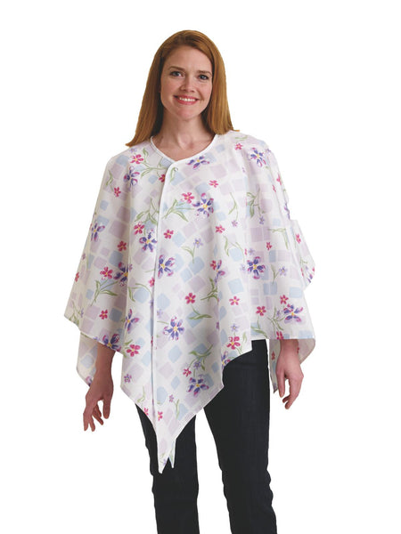 Exam Gown - Mammography Cape (2 Dozen) - BH Medwear - 1