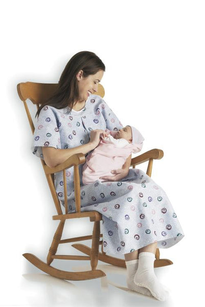 Maternity I.V. Hospital Gown - BH Medwear - 1