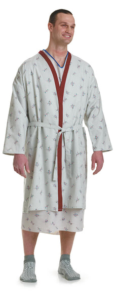 Galaxy Print Patient Robes 1 Dozen - BH Medwear