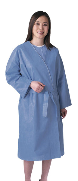 Disposable Patient Robes (Case of 25) - BH Medwear