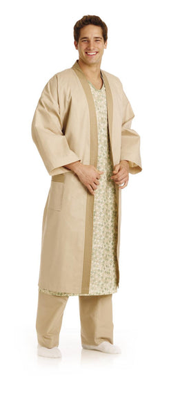 Kimono Style Unisex Patient Robes - BH Medwear