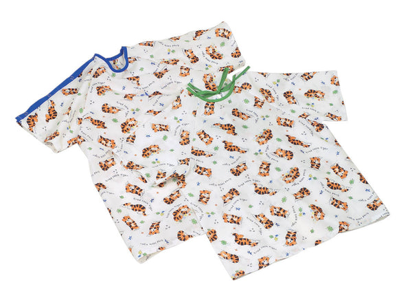 Tired Tiger Pediatric I.V. Gowns - BH Medwear