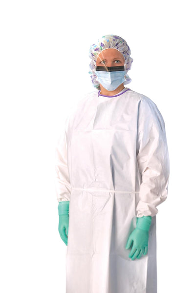 Classic Breathable Isolation Gowns (50 per Case) - BH Medwear