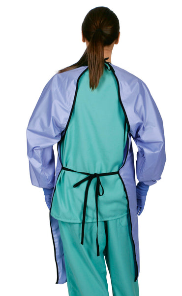 1 DZ Unisex ASEP A / S Barrier Backless Surgical Gown - BH Medwear - 2