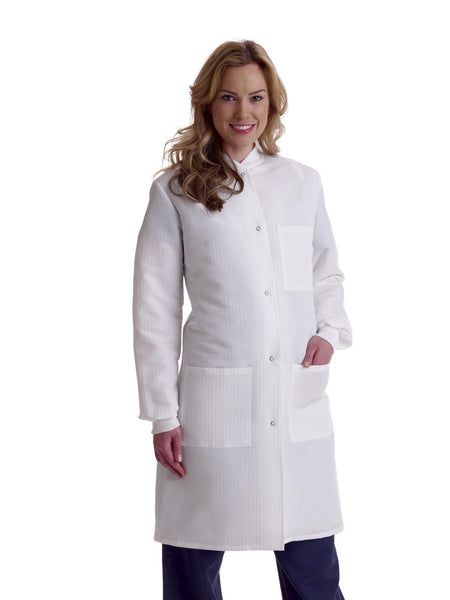 ResiStat Ladies' Protective Lab Coats - BH Medwear