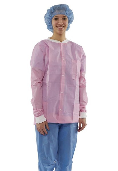 Antistatic Classic Lab Jackets (Case of 30) - BH Medwear - 1