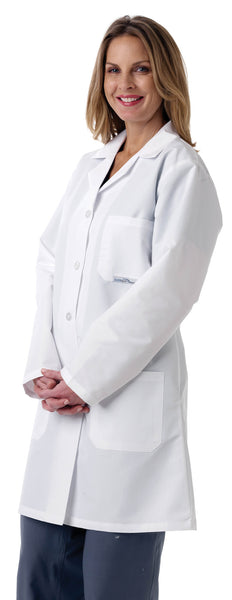 Ladies' Full Length Lab Coat - BH Medwear