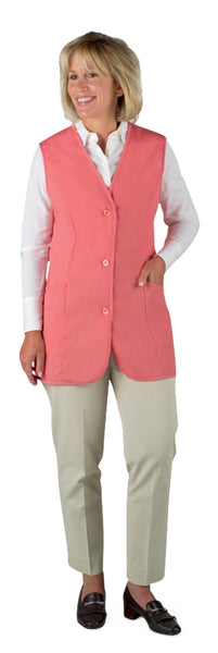 Ladies' Volunteer Pink Vest - BH Medwear