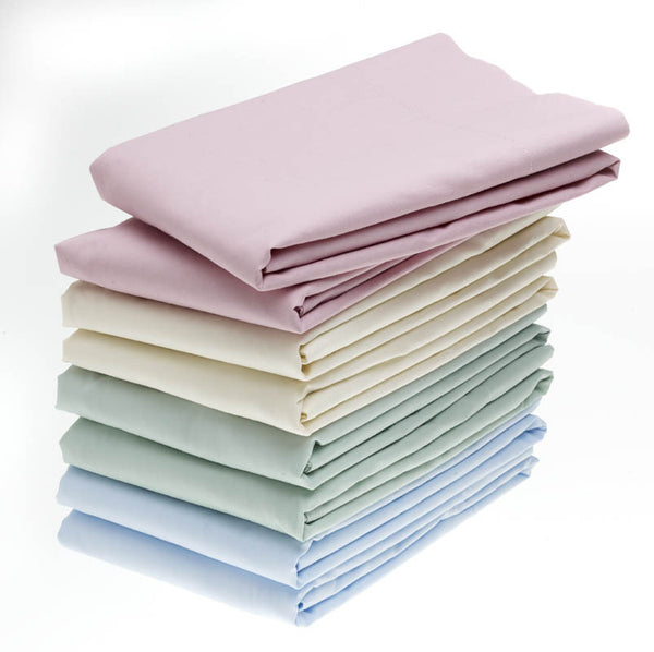 2 Dozen T180 Solid Color Contour Fitted Sheets - BH Medwear - 1