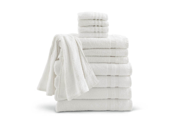 1 Dozen Premium Cotton Cloud Washcloths - BH Medwear