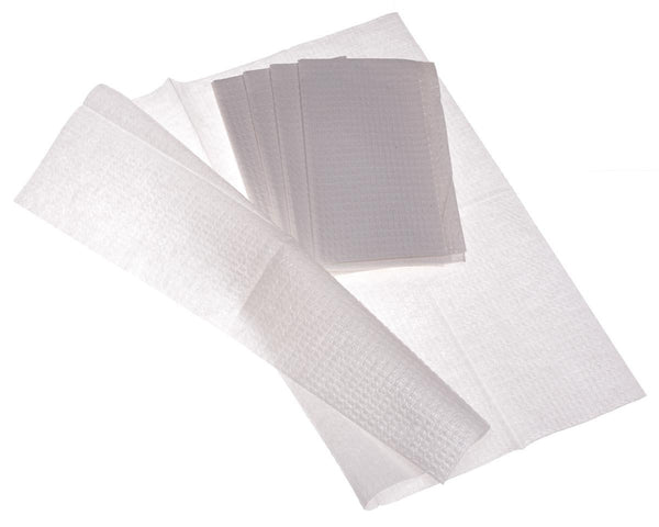 Multipurpose 2-Ply Tissue / Poly Professional Towels (500/CS) - BH Medwear