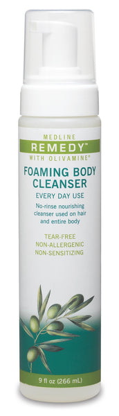 Remedy  4-in-1 Foaming Body Cleanser, 9 OZ - BH Medwear