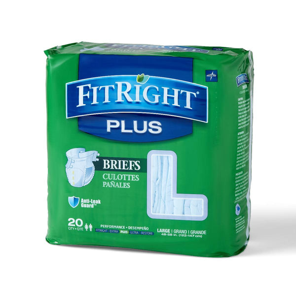 FitRight Adult Plus Briefs - BH Medwear - 1