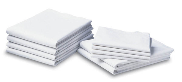 BH Select Woven and Knitted Flat Sheets (5 Dozen) - BH Medwear