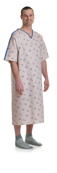 Galaxy Print IV Hospital Gowns - BH Medwear - 1