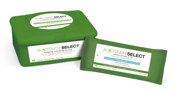 Aloetouch Select Premium Spunlace Personal Cleansing Wipes - BH Medwear