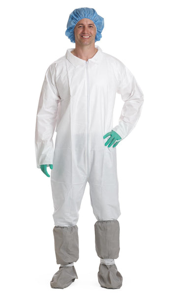 Classic Breathable Coveralls (Case of 25) - BH Medwear - 1