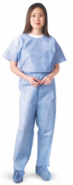 Unisex Disposable Scrub Pants (Case of 30) - BH Medwear