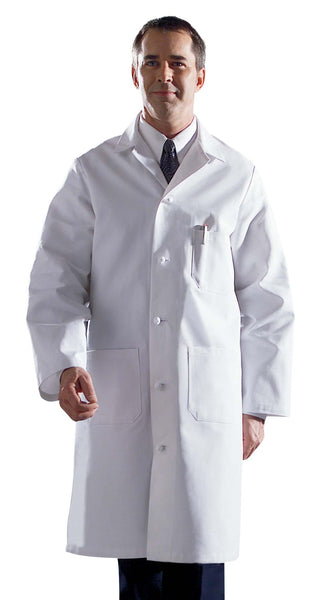 Men's Premium Full Length Lab Coat - BH Medwear