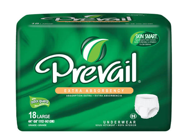 Prevail Protective Underwear - Extra and Super Plus Absorbency - BH Medwear - 3
