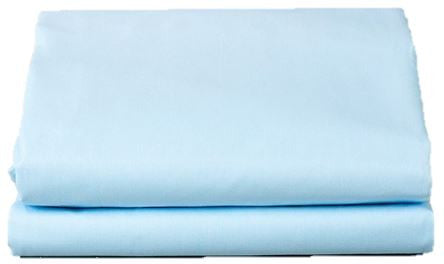1 Dozen T180 Solid Color Flat Sheets - BH MedWear