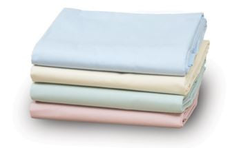 1 Dozen T180 Solid Color Fitted Sheets