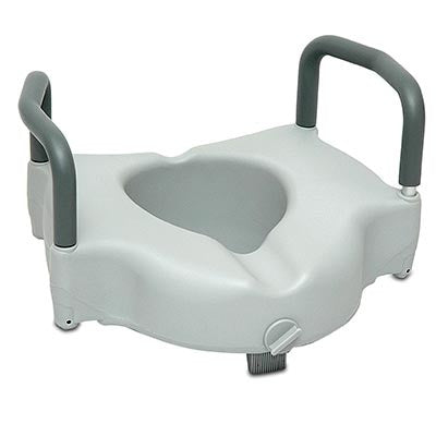 Clamp-on Raised Toilet Seat - BH Medwear - 1