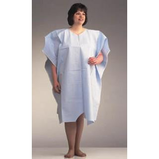 Plus size Patient Exam Gowns Side Opening - BH Medwear - 1