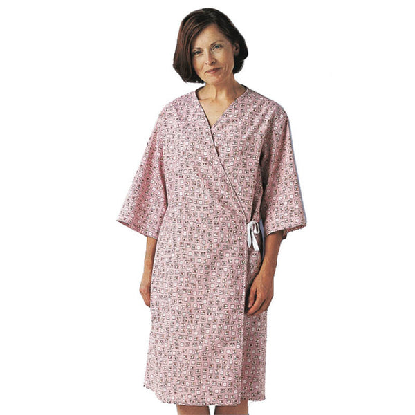 Front Opening Spring Mammography Gown - BH Medwear