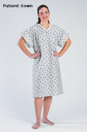 Blue Feather Patient Gown - BH Medwear