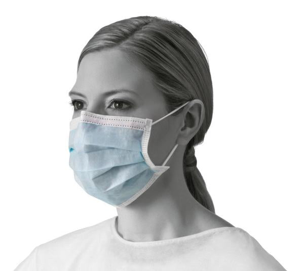Standard Surgical Mask With Earloop (Box of 50 )