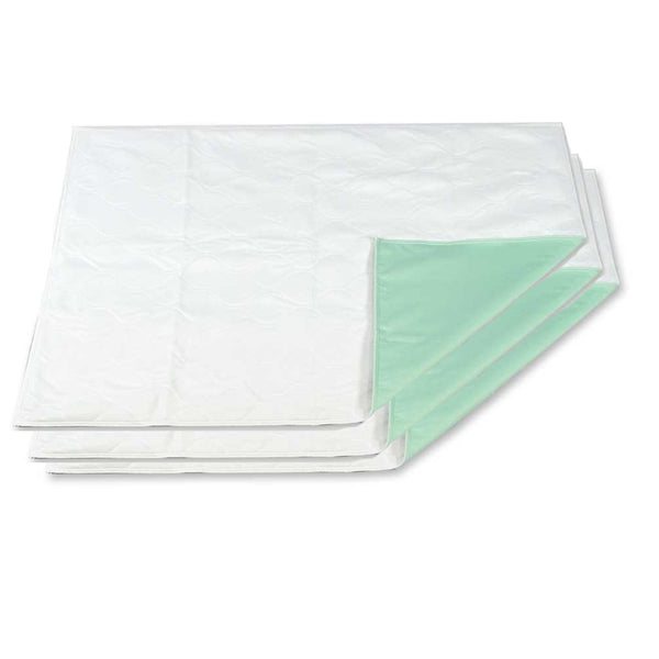 "BH 35"" x 35"" Reusable Bed Pads / Underpads- 3 Pack - BH Medwear - 1"