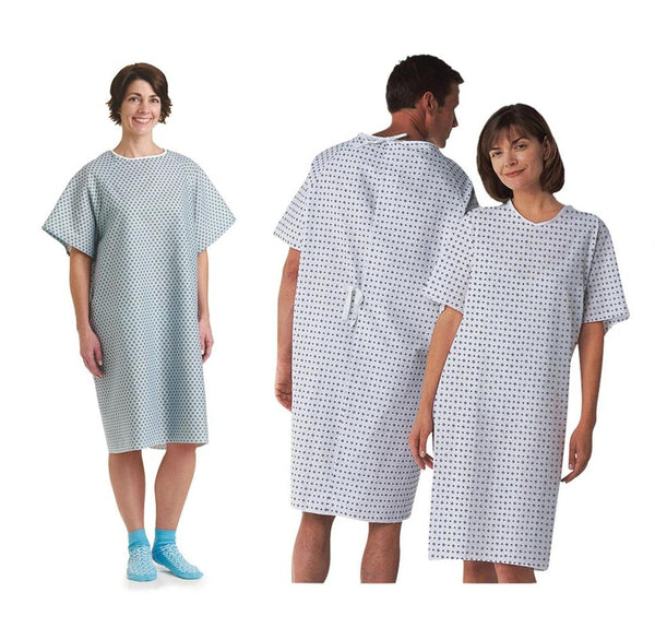 Holiday Special Hospital Gown 3 Pack - BH Medwear