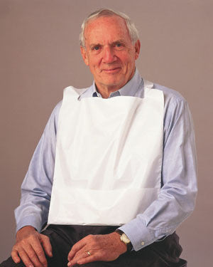 TIDI™ Poly Bibs With Crumb Catcher - BH Medwear