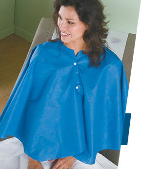 Ultra Mammo Cape Non-Woven w/tabs Side Opening - BH Medwear