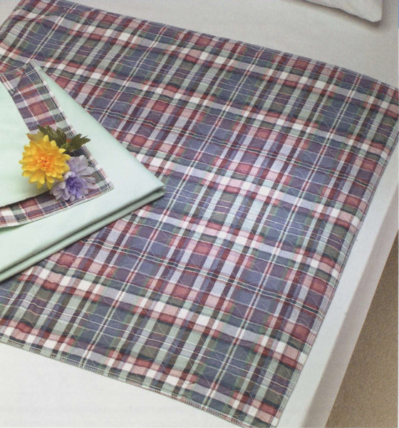 Colorful Printed Plaid Underpads