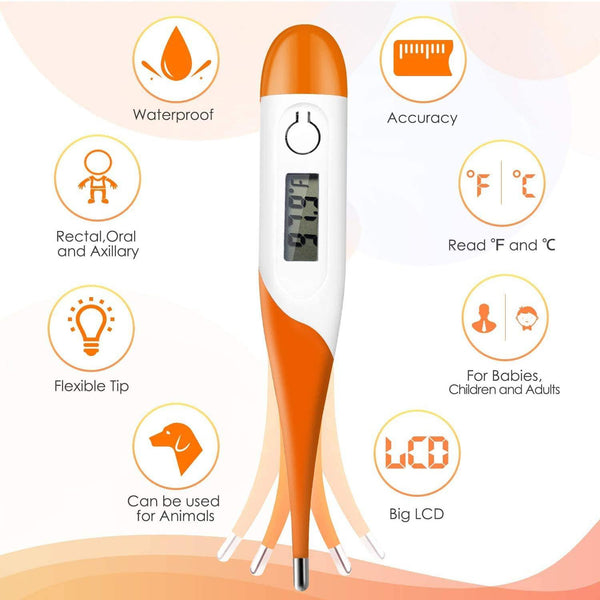 Genial Digital Thermometer T12L (Case Of 10)