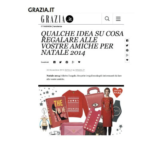 GRAZIA.IT / THE RED STORY WITH AMANJEDA RED DRESS